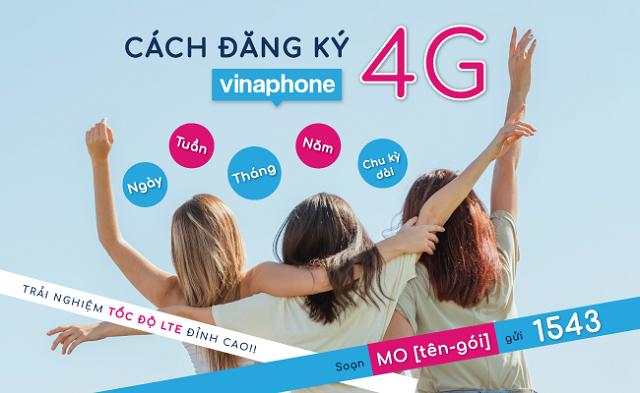 Đăng ký 4G VinaPhone