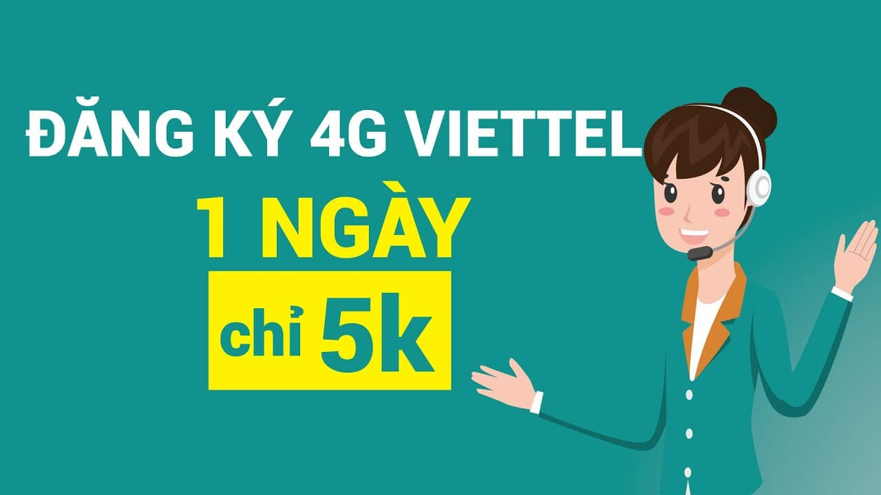 Các gói cước 4G 1 ngày ưu đãi cho người dùng